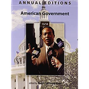 Annual Editions: American Government 13/14 (Paperback)