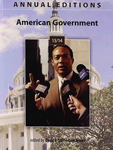 Annual Editions: American Government 13/14