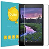 """Fintie Tempered Glass Screen Protector for Amazon Fire HD 8 Tablet, 9H Ultra Clear Anti-Scratch Oleophobic Screen Protector for Fire 8"""" HD Display Tablet (Fits All Generations)"""