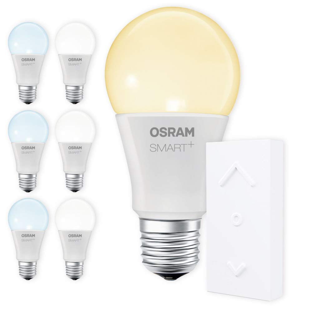 OSRAM SMART+ SWITCH KIT E27 Tunable Weiß dimmbar LED + Fernbedienung weiß Auswahl 7er Set