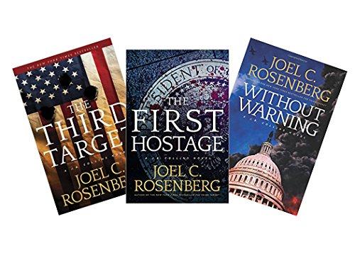 Joel C. Rosenberg J.B. Collins Trilogy Set (The Third Target + The First Hostage + Without Warning)