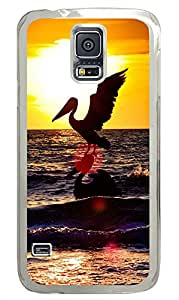 Samsung Galaxy S5 Sea Stork PC Custom Samsung Galaxy S5 Case Cover Transparent