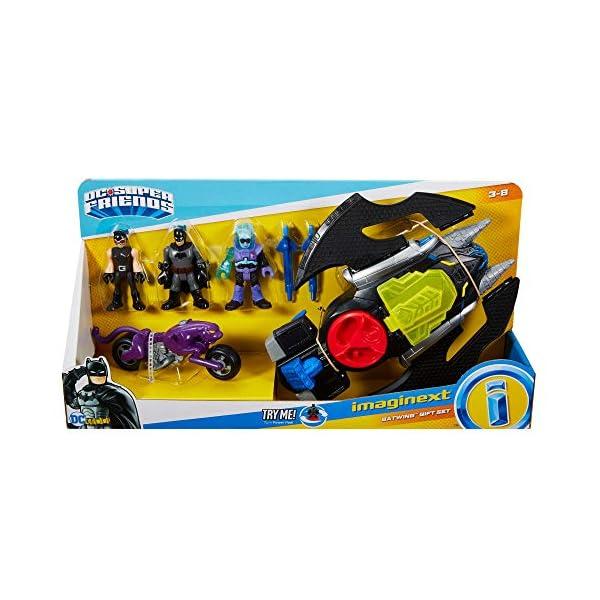 512YK22sPML DC Superfriends Batman Gift Set Includes Batman, Iceman, and Batgirl