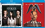 Birdman & Stoker [Blu-ray] 2 Pack Sci-Fi Mystery Drama Movie Set