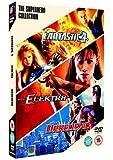 The Superhero Collection (Fantastic 4 / Elektra / Daredevil) [DVD]