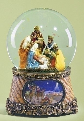 【超目玉枠】 Christmas Family Snow Globe Waterglobe - Nativity Musical Snowglobe - Nativity Nativity Waterglobe - Three Kings - Holy Family Water Globe B00FGSK3JE, みえけん:0e1375a9 --- irlandskayaliteratura.org