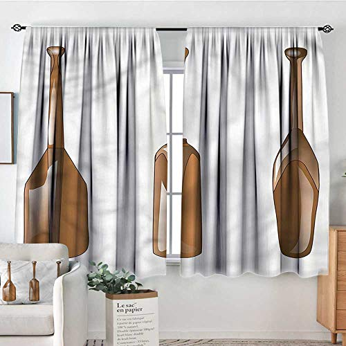 (Anzhutwelve Oar,Door Curtains Canoe Paddle Several Shapes 42