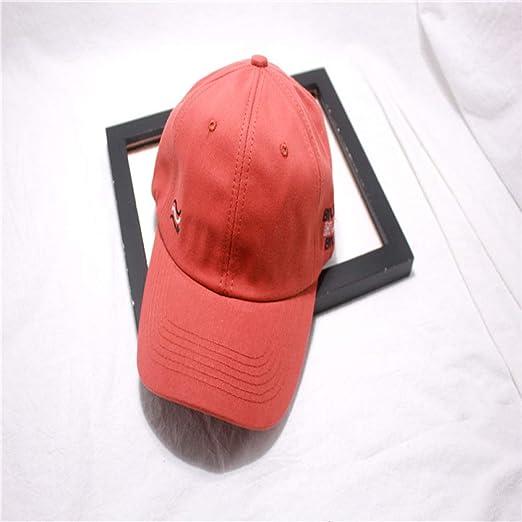 Gorra de béisbol de Color sólido Pareja Protector Solar Visera ...