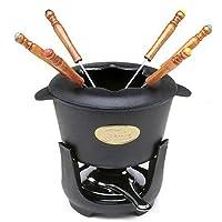Norpro Juego de fondue, Negro, 10 unidades, 1