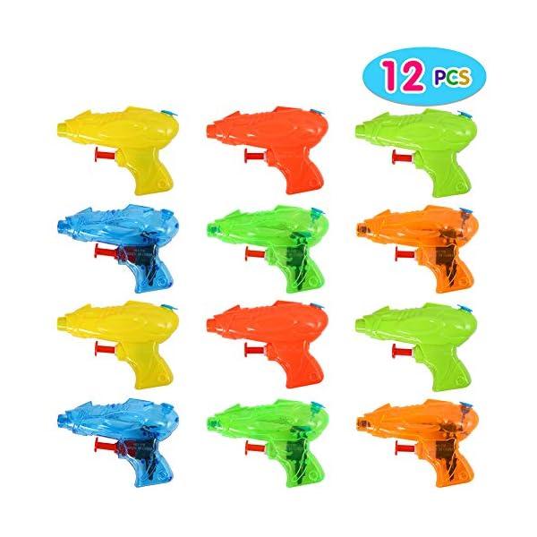ThinkMax 12 Pezzi Mini Pistola ad Acqua per Bambini 1 spesavip