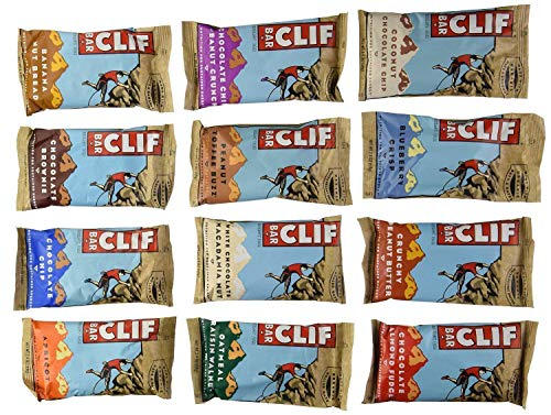 Clif Bar Energy Bar Apricot - Clif Bar 24 Bar Variety Pack, 2 Bars of each Flavor