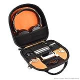 Geekria® ELITE Headphone Shoulder Bag / Case Fit Sony MDR 950BT, 950B1, 950N1, 10RBT, ATH M50X, Bose QC25, QC35, B&O H2, H6, H7, H8, Parrot Zik, B&O H6, H8, Headset Travel Cross-body Bag