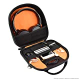 Geekria® ELITE Headphone Shoulder Bag / Case Fit Sony MDR-950BT, MDR10RBT, ATH M50x, Bose QC25, QC35, Parrot Zik, B&O H6, H8, Headset Travel Cross-body Bag