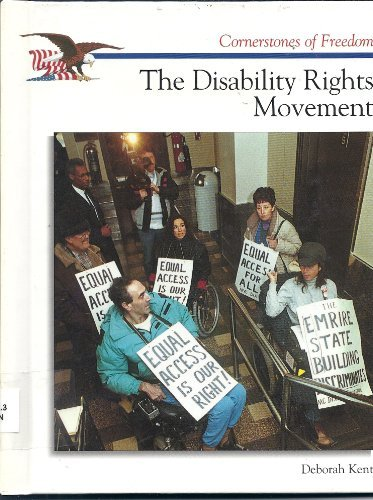 The Disability Rights Movement (Cornerstones of Freedom Second Series)