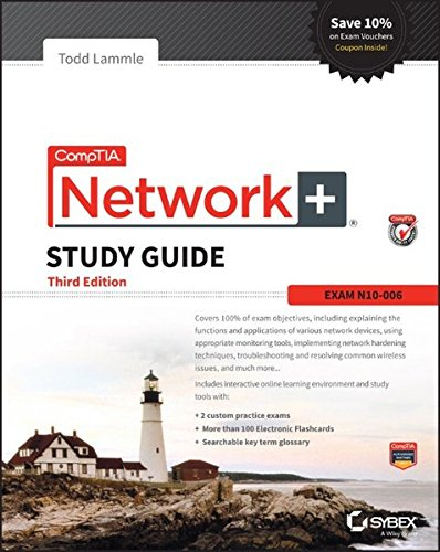 CompTIA Network+ Study Guide: Exam N10-006 (Comptia Network + Study Guide Authorized Courseware) cover