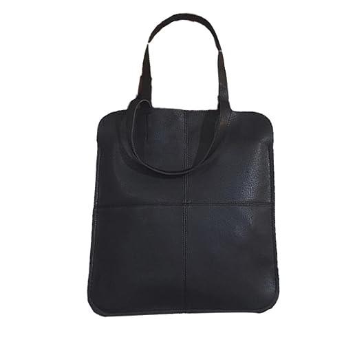 ESAILQ - Bolso estilo cartera para mujer negro negro: Amazon.es: Zapatos y complementos