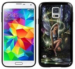 Fairy Fantasy Handmade Samsung Galaxy S5 Black Case by lolosakes