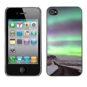 Print Motif Coque de protection Case Cover // F00000055 andromeda astro ártico // Apple iPhone 4 4S 4G