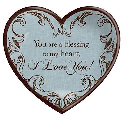 Tabletop Plaque Award (CB Gift Heartfelt Collection Tabletop Plaque, I Love You)