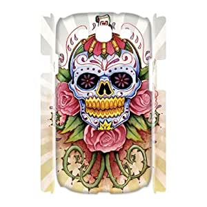 TOSOUL Skull Customized Hard 3D Case For Samsung Galaxy S3 I9300