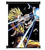 Amazon Price History for:1 X Dragon Ball Z Super Saiyan Goku Anime Fabric Wall Scroll Poster (16x21) Inches