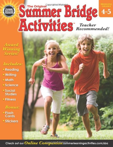 Download Summer Bridge Activities, Grades 4 - 5 pdf epub