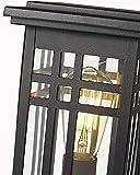 Zeyu Exterior Post Light, Outdoor Pole Lantern