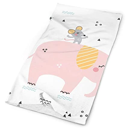 Bathing The Elephant Unisex Fashion Quick-drying Microfiber Headdress Outdoor Magic Scarf Neck Neck Scarf Hooded Scarf Super Soft Handle