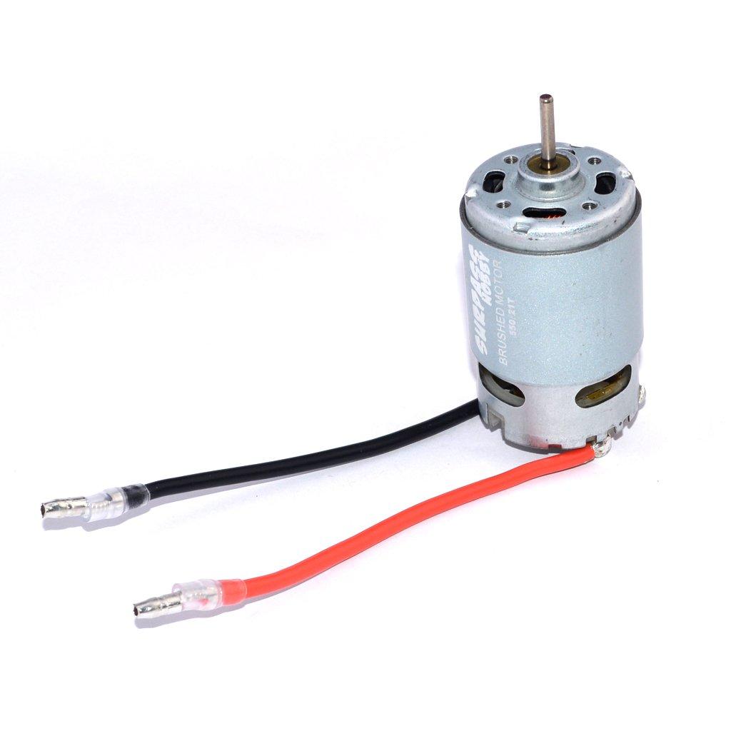 MonkeyJack Durable Magnetic 550 21T Brushed Motor for FS Kyosho TRAXXAS HSP HPI RC Model Car Buggy Boat Spare Parts