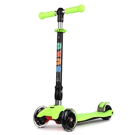 ETTBC Scooters Patinete Plegable para niños de 2 a 12 años ...