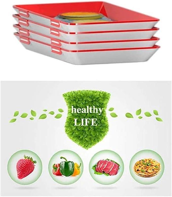 VEVICE - Bandeja de conservación de Alimentos Creativa y Saludable ...