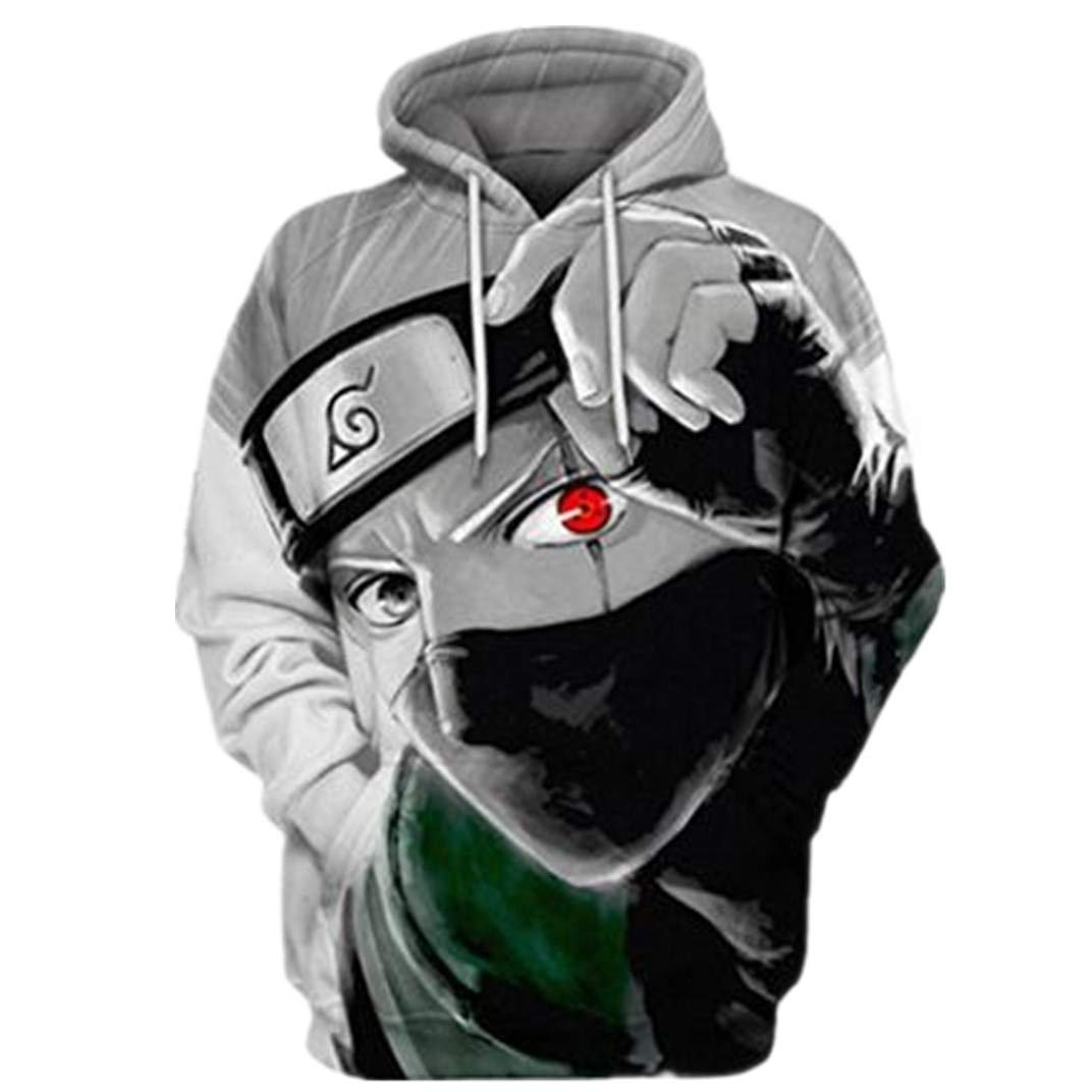 Winter New Dragon Ball Monkey King 3D Digital Printing Pullover Animation Lovers Hoodie Casual wear