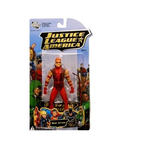 - dc comics Justice League of America 1: Red Arrow Action Figure New