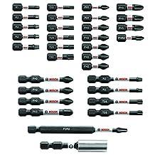 Bosch SBID32 Impact Tough Screwdriving Bit Set (32 Piece)