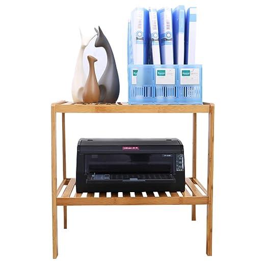 Weq - Estante para Impresora de Escritorio (bambú), bambú, Color ...