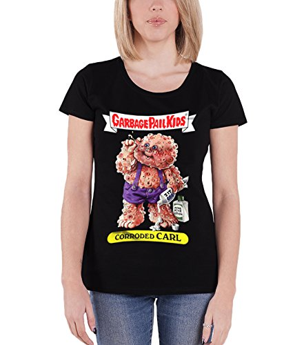 garbage-pail-kids-t-shirt-corroded-carl-new-official-womens-junior-fit-black