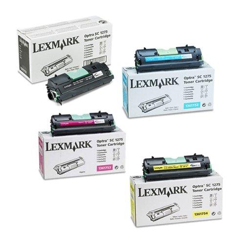 Lexmark Optra SC 1275N Toner Cartridge Set (OEM)