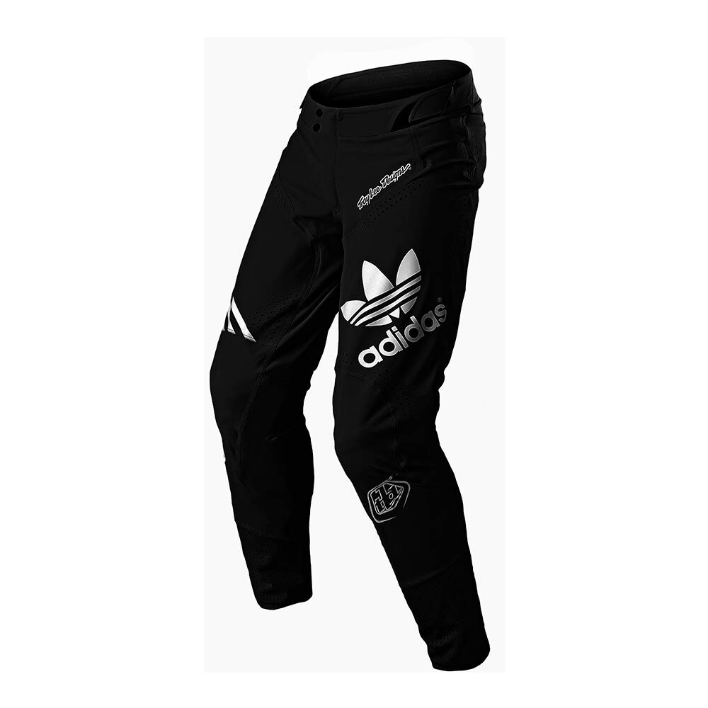 Troy Lee Designs Ultra Limited Team Edition Adidas Team Men's Off-Road Motorcycle Pants (30, Black)