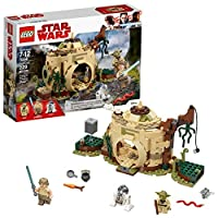 Deals on LEGO Star Wars: The Empire Strikes Back Yodas Hut 229 Piece