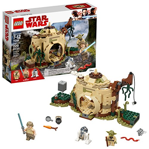 LEGO Star Wars: The Empire Strikes Back Yoda's Hut 75208 Building Kit (229 Piece)