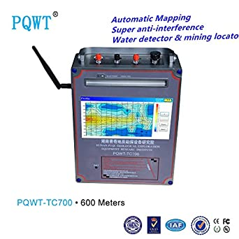 2018 Newest!!! colourful geoelectrical mapping 600M optional