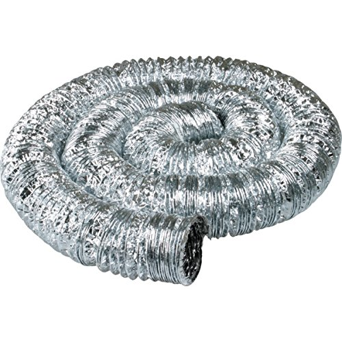Deflect-O 4inch Double-Ply Flexible Aluminum Duct-set of 2