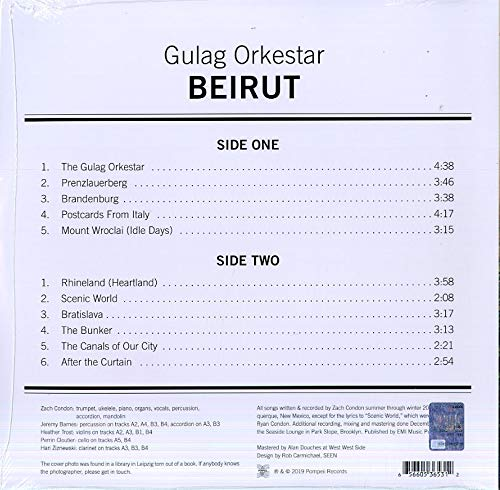 Gulag Orkestar : Beirut: Amazon.es: Música