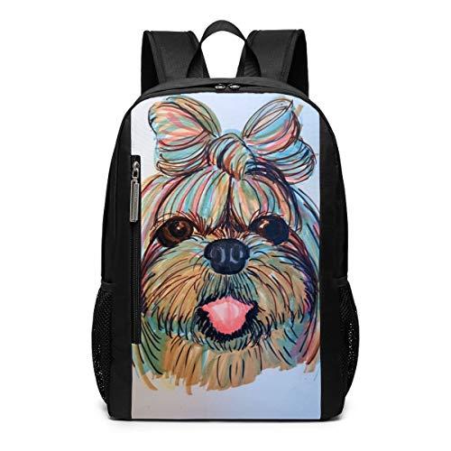 (Shih Tzu Head Baby Dog Pupy Women Theme Pattern Printed Girls Boy Teen Women Kid Men Gym Sports Gear Bookbag Book Back Mini Bag Laptop Backpack Travel Hiking)