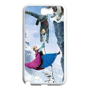 E-Isam Diy Samsung Galaxy Note 2 N7100 Phone Case Frozen Pattern Hard Case