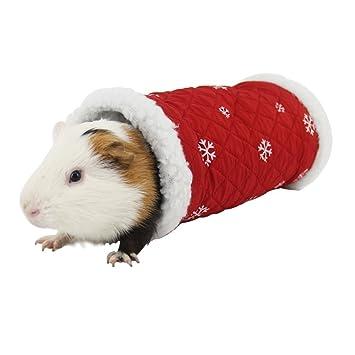 ASOCEA Mascotas Juego Cálido Túnel Invierno durmiendo Cama para Hamster Gerbil Rata cobaya Chinchilla Ardilla: Amazon.es: Productos para mascotas