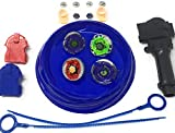 #10: Bey Battling Blades Game Tops Metal Fusion Starter Set Launchers and Arena Included By: Crush