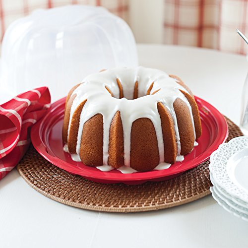 Nordic Ware Bundt Translucent Dome Cake Keeper