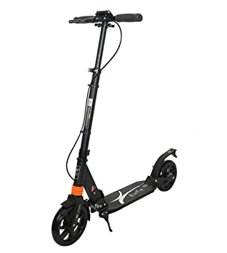 Patinete Plegable Sistema De Doble Freno NiñO Tipo Scooter ...
