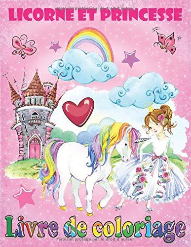 Licorne Et Princesse Livre De Coloriage French Edition Enfants Intelligents 9781794603196 Amazon Com Books